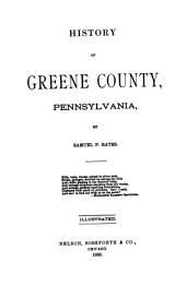 History of Greene County, Pennsylvania