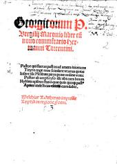 Georgicorum P. Vergilii Maronis liber