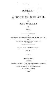 Journal of a tour in Iceland, in the summer of 1809: Volume 2