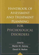 Handbook of Assessment and Treatment Planning for Psychological Disorders PDF