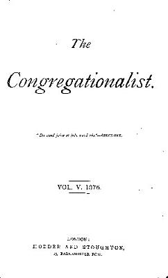 The Congregationalist PDF