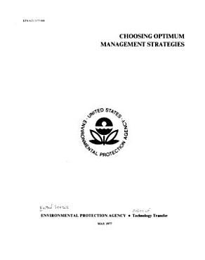 Choosing Optimum Management Strategies PDF