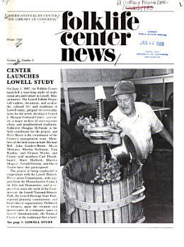 Folklife Center News PDF
