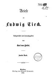 Briefe an Ludwig Tieck: Band 2