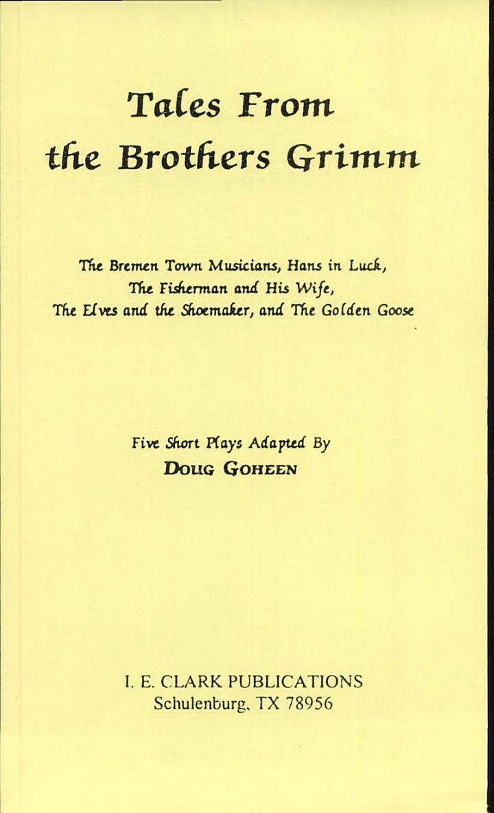 Tales from the Brothers Grimm