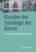 Klassiker der Kunstsoziologie PDF