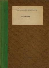 Die altpersischen keilinschriften: Teil 1