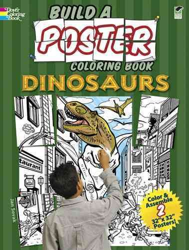 Build a Poster Coloring Book  Dinosaurs PDF