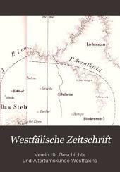 Westfälische Zeitschrift: Bände 23-24