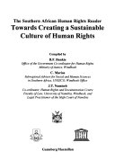 Towards Creating a Sustainable Culture of Human Rights PDF