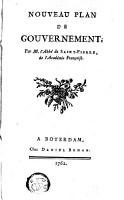 Nouveau plan de gouvernement PDF