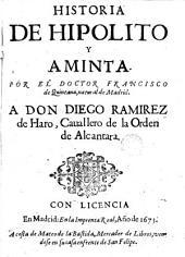 Historia de Hipolito y Aminta