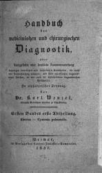 Handbuch der medicinischen und chirurgischen Diagnostik PDF