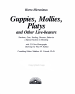 Guppies  Mollies  Platys  and Other Live bearers PDF