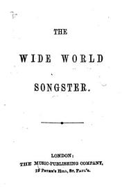 The Wide World Songster