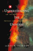 Understanding the Universe PDF