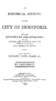 An Historical Account of the City of Hereford PDF