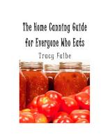 The Home Canning Guide For Everyone Who Eats PDF