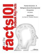 Family Interaction , A Multigenerational Developmental Perspective: Psychology, Psychology, Edition 5