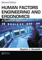 Human Factors Engineering and Ergonomics PDF
