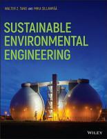 Sustainable Environmental Engineering PDF
