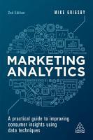 Marketing Analytics PDF