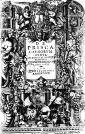 De prisca Caesiorum gente commentariorum: libri duo, Volume 1
