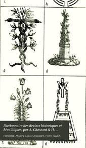 Dictionnaire des devises historiques et héraldiques, par A. Chassant & H. Tausin. [With] Suppl., par H. Tausin: Volume 3