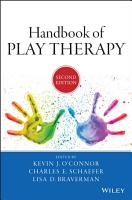 Handbook of Play Therapy PDF