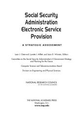 Social Security Administration Electronic Service Provision: A Strategic Assessment