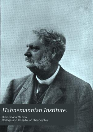 The Hahnemannian Institute PDF