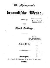 W. Shakspeare's dramatische Werke: Antonius und Cleopatra. Maass für Maass. Titus Andronicus. Romeo und Julia. Nachwort