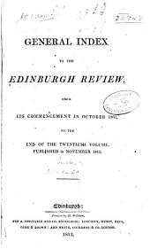 The Edinburgh Review: Volumes 1-20