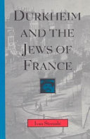 Durkheim and the Jews of France