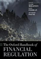 The Oxford Handbook of Financial Regulation PDF