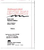 McDougal, Littell English: Teacher's ed