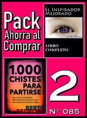 Pack Ahorra al Comprar 2 (Nº 085): 1000 Chistes para partirse & El Inspirador Mejorado