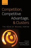 Competition  Competitive Advantage  and Clusters PDF