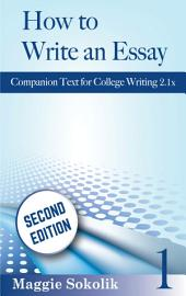 How to Write an Essay, Workbook 1