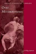 Metamorphoses PDF