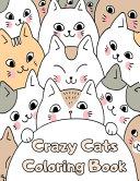 Crazy Cats Coloring Book
