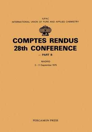 Comptes Rendus 28th Conference PDF