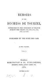 Memoirs, publ. by the duke des Cars [ed. by - La Ferronays. Transl.].