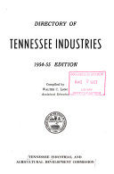 Directory of Tennessee Industries PDF