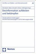 Desinformation Aufdecken Und Bekampfen PDF