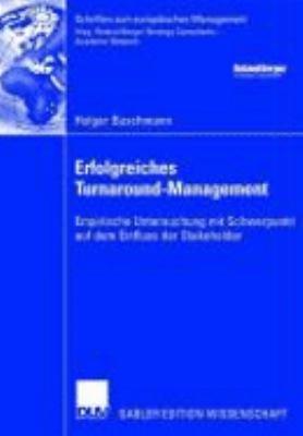 Erfolgreiches Turnaround Management PDF