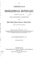 The American Biographical Dictionary PDF