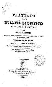 Trattato delle nullita di diritto in materia civile