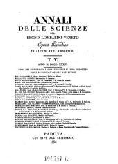 Annali Delle Scienze Del Regno Lombardo-Veneto Opera Periodica Di Alcuni Collaborati: Volume 25