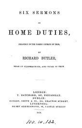 Six sermons on home duties